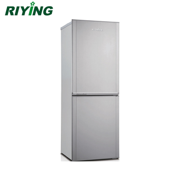 BCD 178 Double Door And Bottom Freezer Stainless Steel Household  Refrigerator