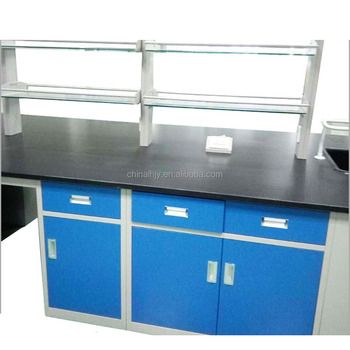 Modern School Furniture Lab Chemical Epoxy Resin Worktop Workbench