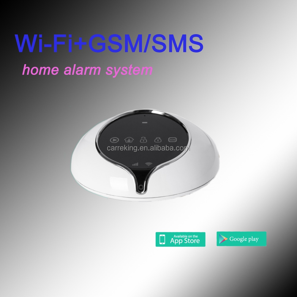 Advanced GSM alarm system fingerprint alarm system