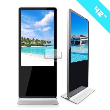 Kiosk Lcd Monitor Led Commercial Advertising Display