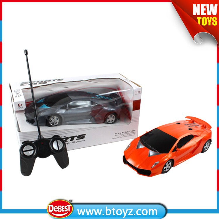 Best Selling 1:18 4 CH Universal RC Car Remote Control for Children