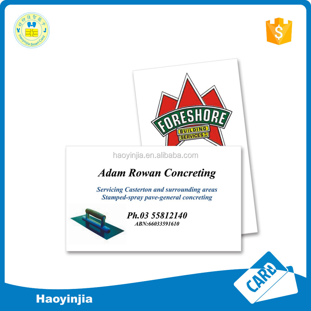Good Quality Coated Paper Card paper business card