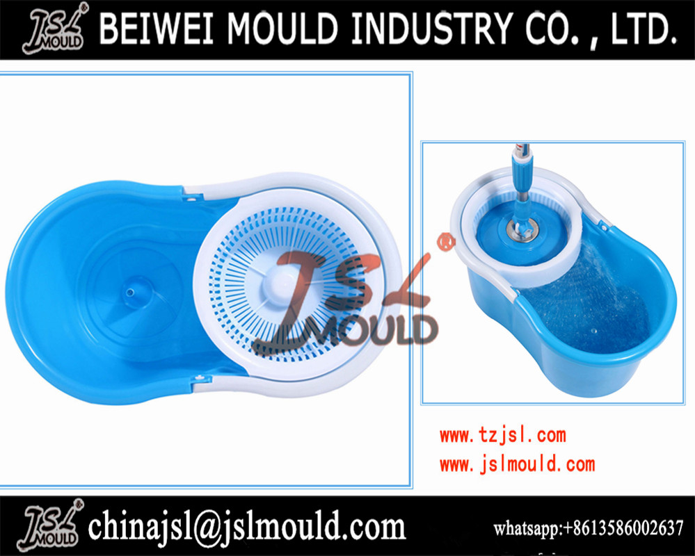 Customized Injection 360 Spin Mop Bucket Plastic Bucket Mould