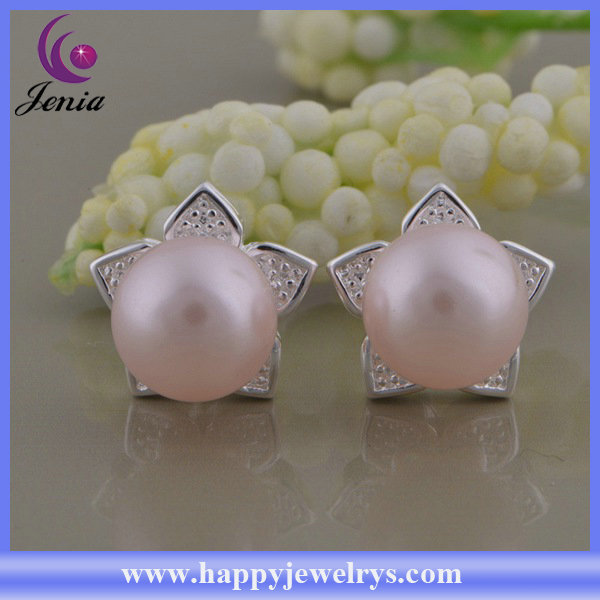 Wholesale Alibaba China supplier pink pearl design 925 silver ...