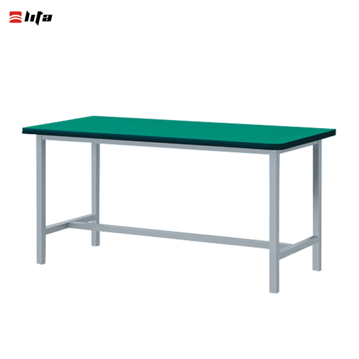 Light duty industrial steel workbench