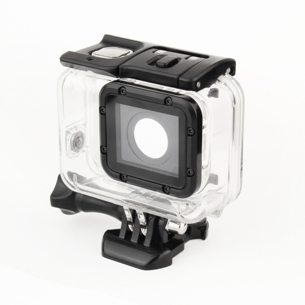 Go Pro case Underwater Waterproof Housing Shell for GoPro Hero 5 Black Edition Action Camera Accessories
