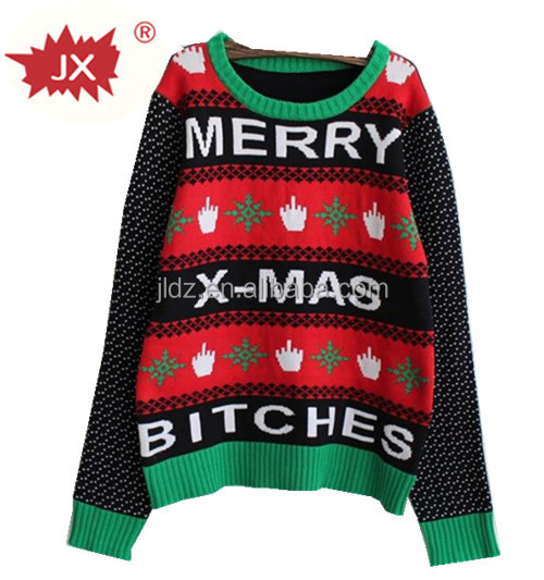 Adult Xmas knitted sweater christmas jumper