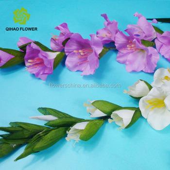 Flower arrangements artificial white gladiolus flowers for home flower arrangements artificial white gladiolus flowers for home decor mightylinksfo