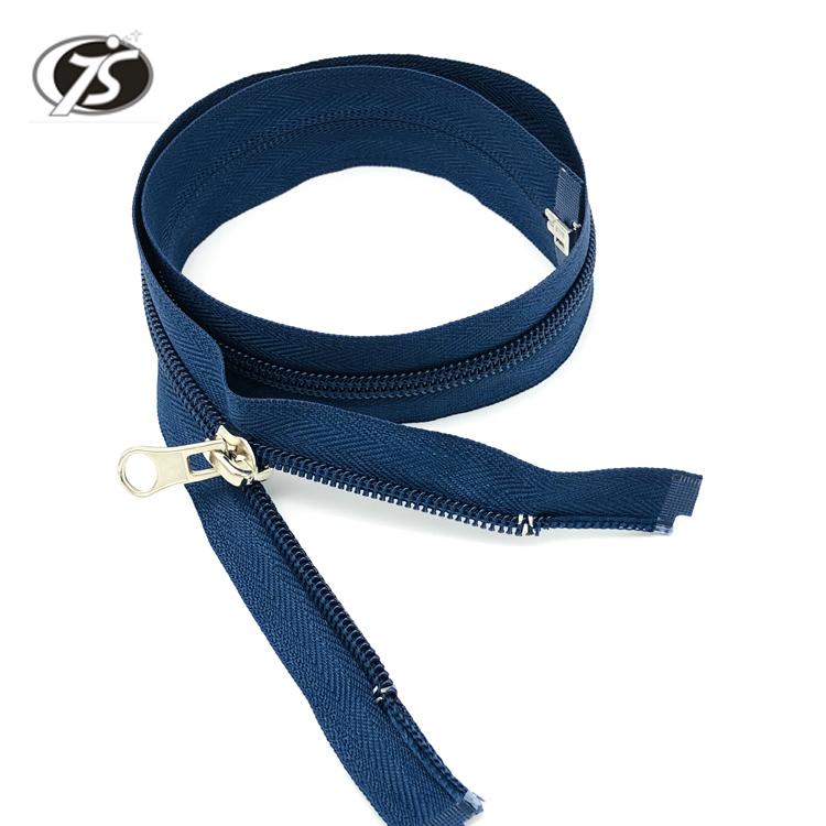 10 Pcs 50pcs 5# Bule Tone Metal Head Teeth Zipper Puller Slider Metal Accessory Bags Comfortable Feel Bag Parts & Accessories