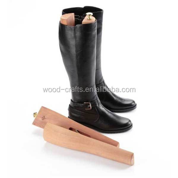 Exclusive European Style Cedar Shoe Tree Boot Stretcher