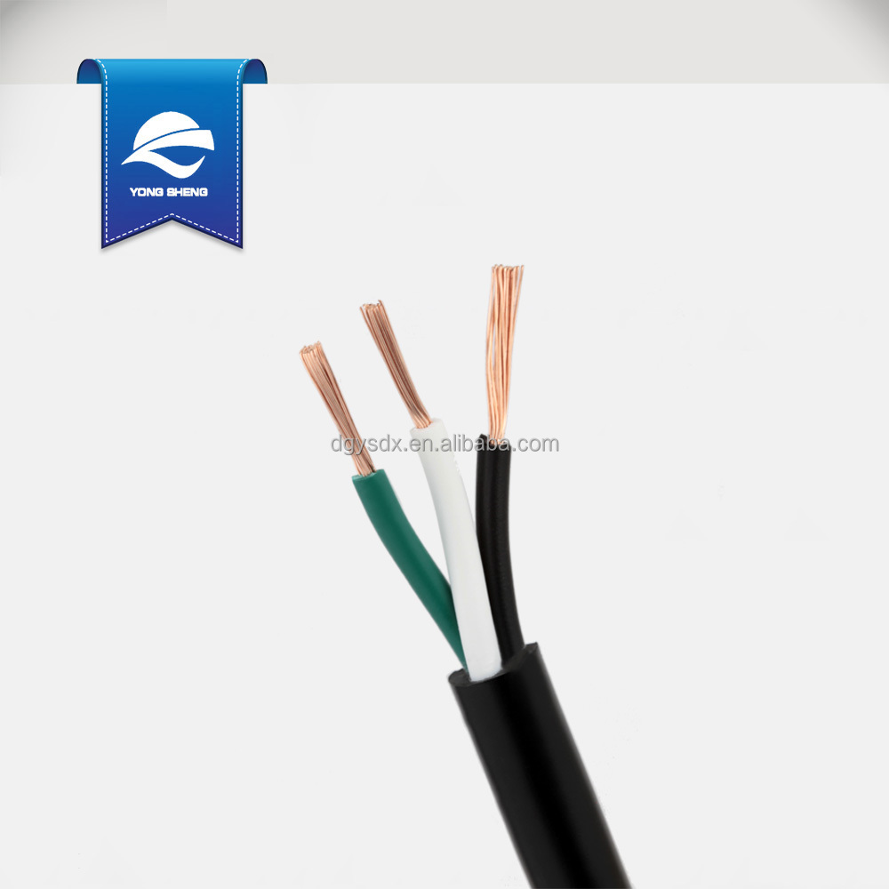 Svt 3core 16awg With Ground Wire Power Cable Ratings - Buy Power ...