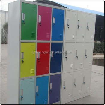 Office Furniture Steel Locker Storage Cabinet For Dormitory Clothing 12 Door Loker Market