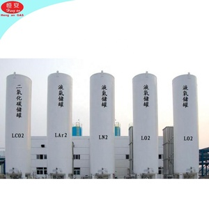 Cryogenic Liquid Argon 20m3 Storage Tank For Filling Station