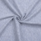 knitted fabric 100%cotton melange jersey with extra width
