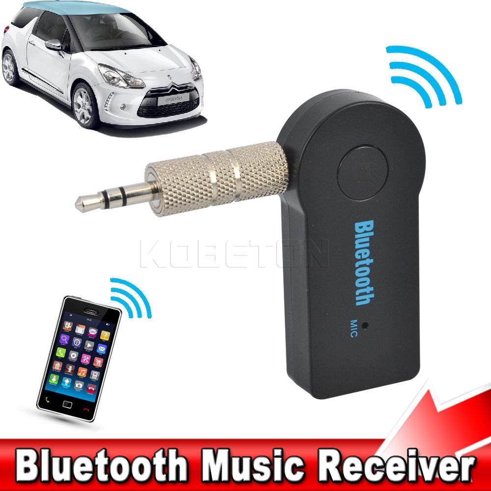 2016 a2dp wireless bluetooth audio music receiver universal handfree car kit mini adapter. Black Bedroom Furniture Sets. Home Design Ideas