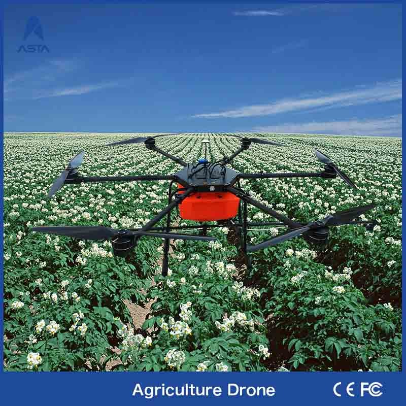 Unmanned Helicopter Advanced Technology Waterproof Crop Pesticide Electric Machinery Drone Agriculture Sprayer