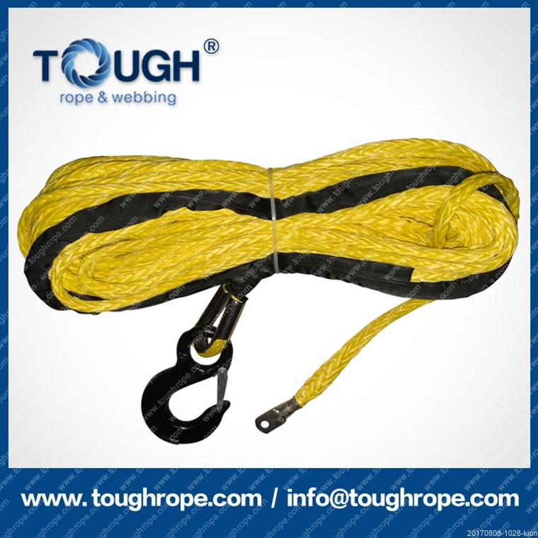 Pullaway from rugged road atv synthetic winch rope fits in Hand/Power/Air Winches