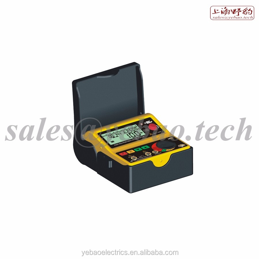 SJX-99 Lab Standard Dual-Clamp Ground Resistance Test Instrument