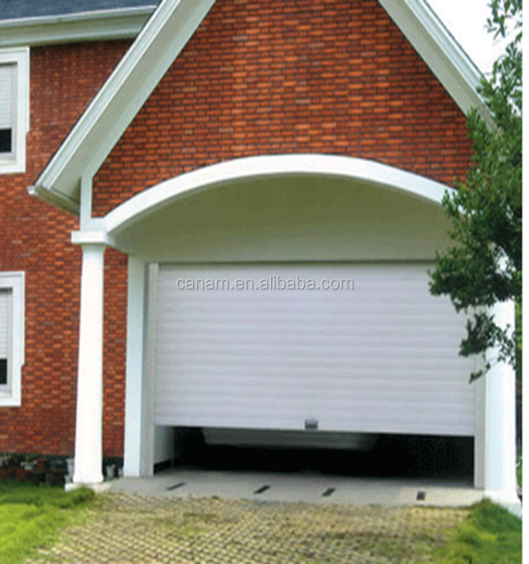 chinese large rolling garage door