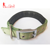 Amazon hot sell nylon pet dog collars pet accessories padded dog collar for medium and large pets