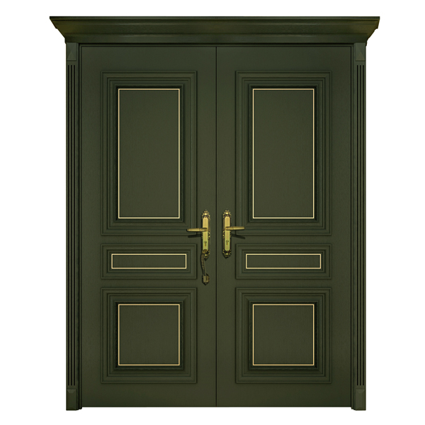 2014 new design decorative south indian front double door