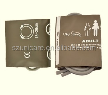 Neonatal 5 sizes one tube disposable nibp cuff