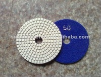 Cheap Diamond Polishing Pads 4 Wet/Dry Backer Granite Stone Concrete