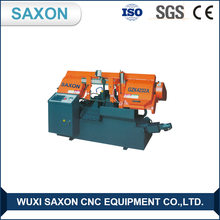 china market Saxon Brand GZK-4232A CNC horizontal band sawing machine