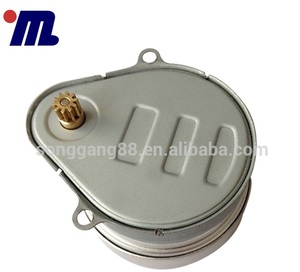 AC 220V Hysteresis Motor TH-204-SG 4-5RPM 5W White Wires With Splint, Ac Motor Electric Vehicle Power Wheelchair Motor