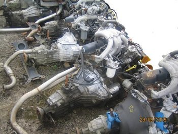 Ford Transit   Di Engine And Gearbox