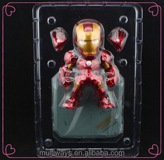 10+ Year Factory Make Custom Plastic Superhero Ironman Action ...