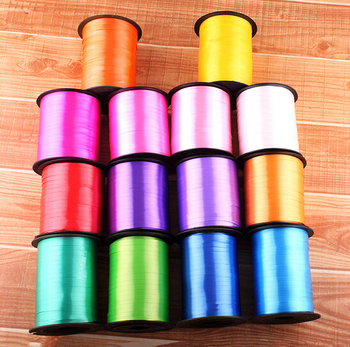 220m 5mm Balloon Ribbon Roll Diy Gifts Crafts Foil Curling Wedding