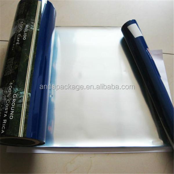 Multilayer Printing Aluminum Foil Plastic Coffee Film/ Roll Stock ...