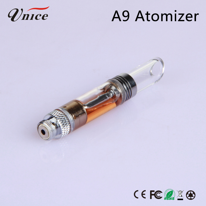 China wholesale smoking pipes free samples cbd oil glass oil vaporizer cartridge manufactured in China