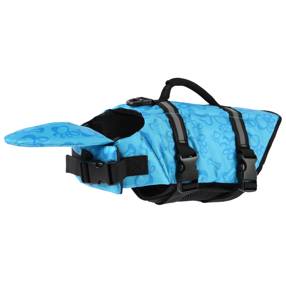 PETCEE Dog Life Jacket,Life Jacket for Dogs,Dog Life Jacket Large and Dog Life Jacket XS Quick Release Easy-Fit Adjustable Life Jackets for Dogs(L,M,S,XS)