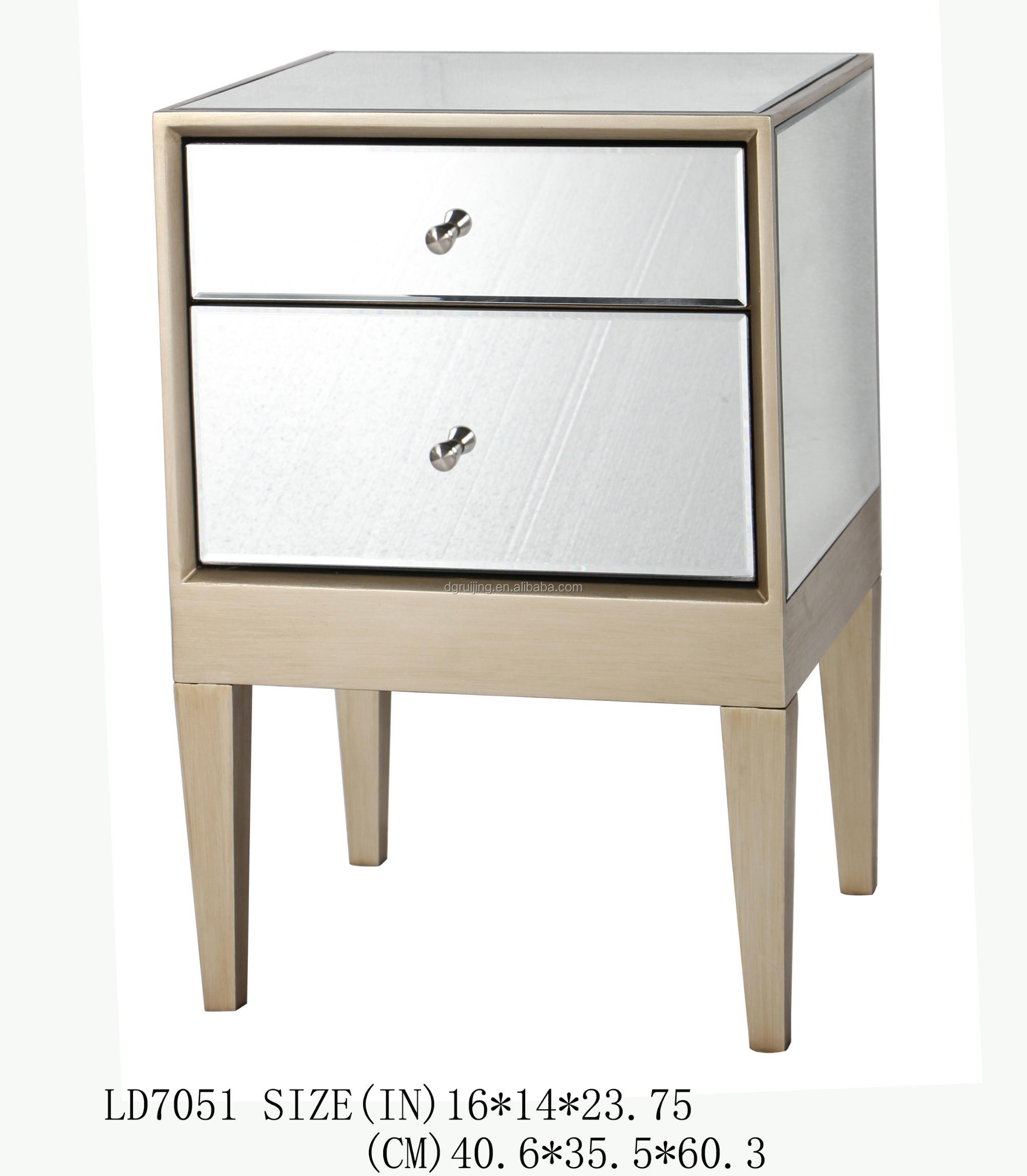 Venetian Mirrored Bedside Table, Venetian Mirrored Bedside Table Suppliers And