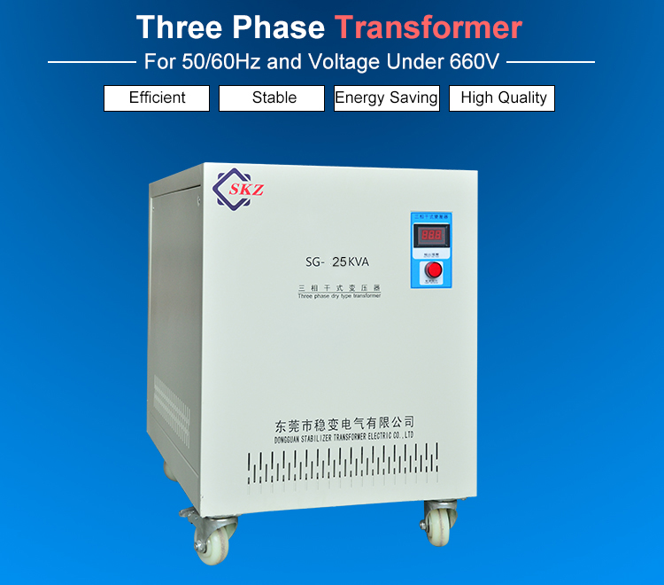 25KVA Three Phase Transformer