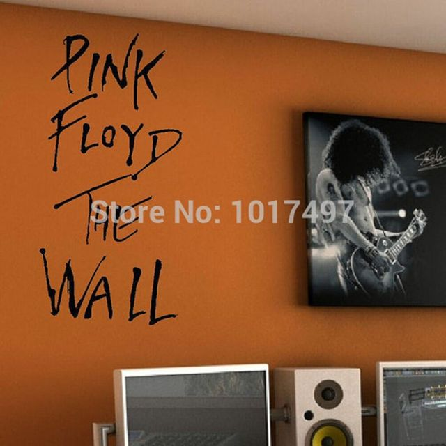 Pink floyd the wall art vinyl wall decal classic rock - Over the garden wall soundtrack vinyl ...