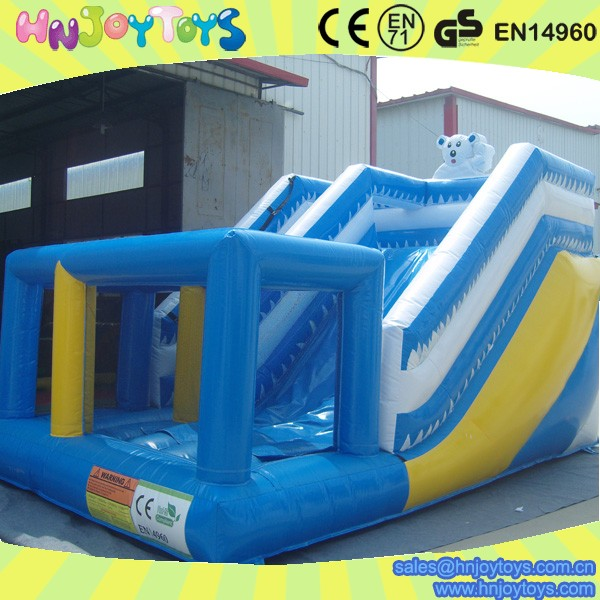 China Inflatable Games Swimming Pools Walmart Water Park Slides For Sale Skype Hnjoytoys006