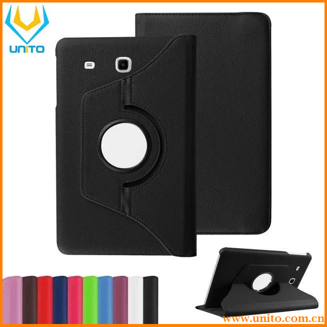Luxury Magnetic Smart PU Leather 360 Rotating Case Cover for Samsung Galaxy Tab E 9.6Inch T560 T561