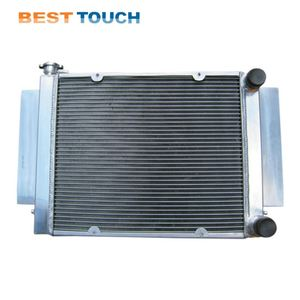 Custom Automobile Aluminum And Plastic Car Radiator Covers