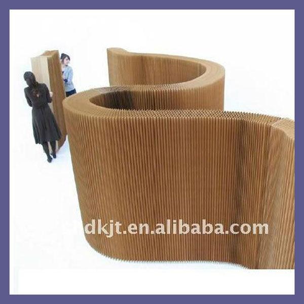 Paravent diviseur papier carton meubles pour dk1101006 - Paravent papier ...