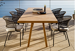 Factory supply Handmade almless french stackable rattan chairs