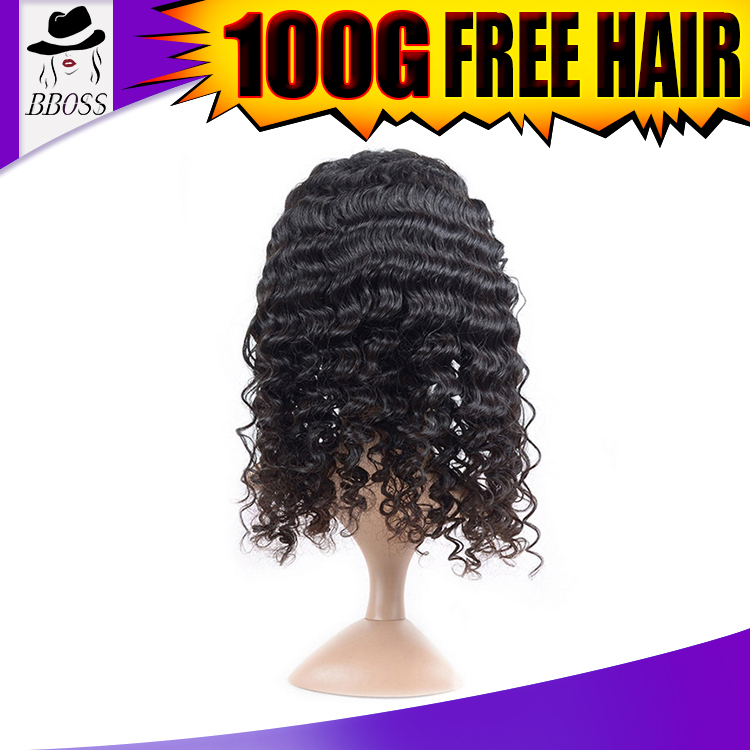 malaysian kinky curly hair full lace wig