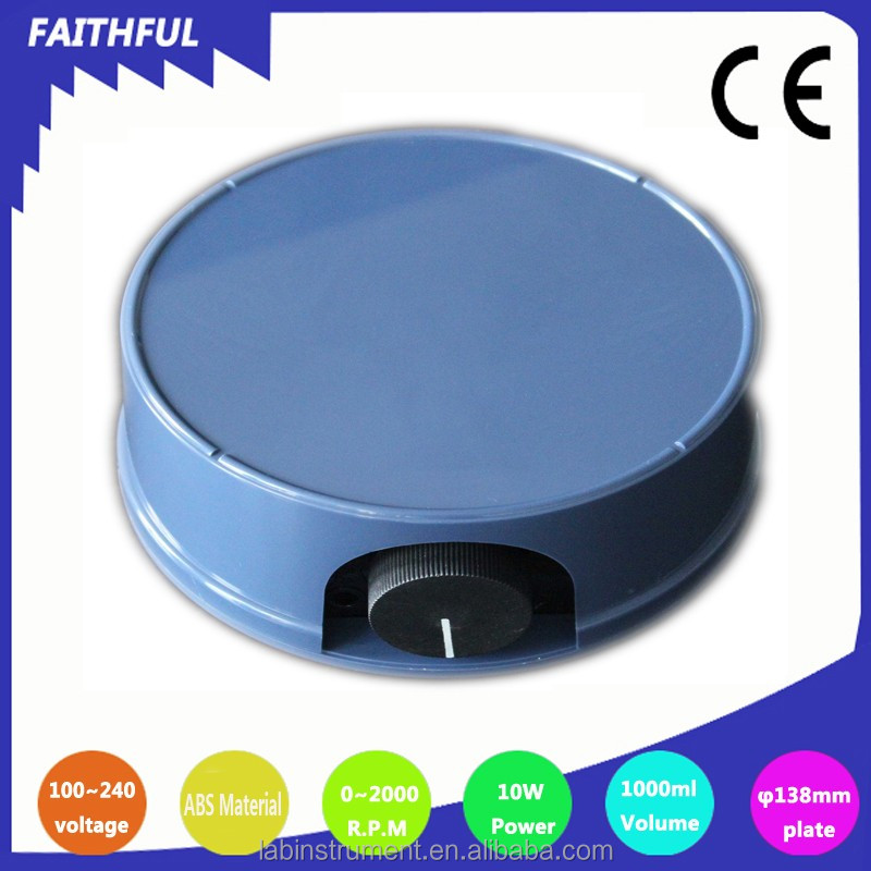 Magnetic stirrer without LED light use for industrial and food processing