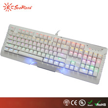 Professional friendly users gaming keyboard computer gaming keyboard shenzhen mechanics with low price