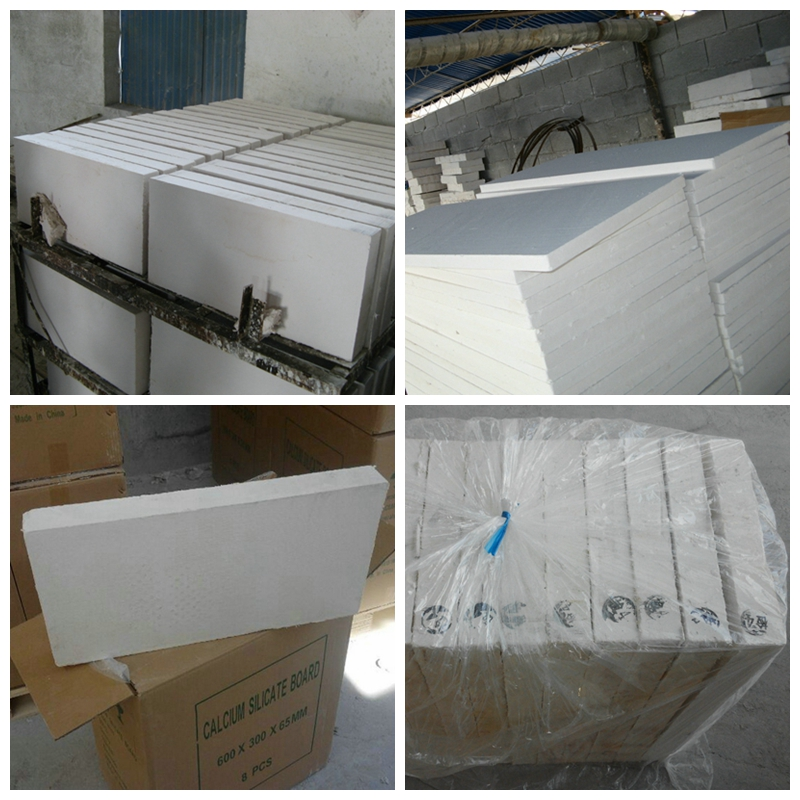 650C 30mm Thickness Fire Resistant Insulation Calcium Silicate Board price