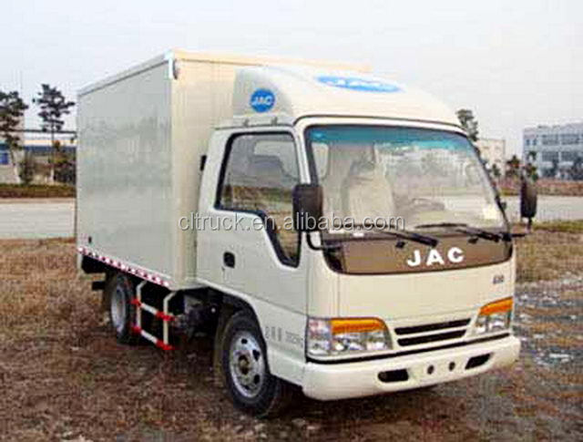 3-5 tons JAC mini delivery van