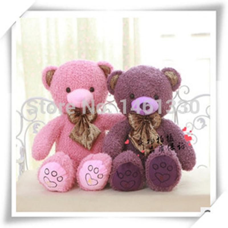 Get Quotations · Purple Teddy Bear Plush Toys Stuffed Animals Toys For  Girls Soft Toy Kids Toys Big Bear