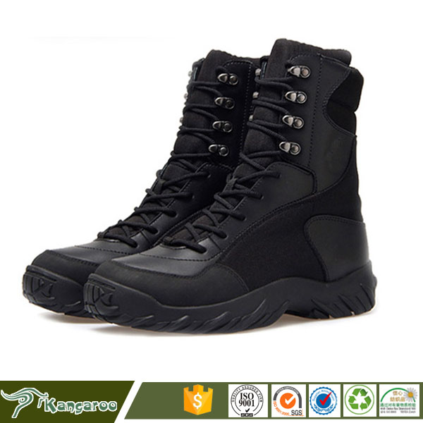 Italian Winter Shoes Silicone Camouflage Military Boots